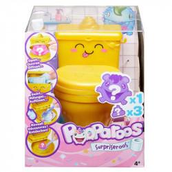 Mattel POOPAROOS Niespodzianka w Toalecie Zwierzątko+Akcesoria GCW80
