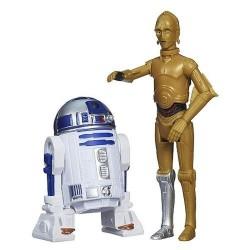 Hasbro - A8657 - Star Wars - Rebels - Figurki - R2-D2 i C3PO - 10 cm