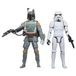 Hasbro - A8660 - Star Wars - Rebels - Figurki - Boba Fett i Stormtrooper - 10 cm