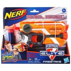 Hasbro - 53378 - NERF N-Strike Elite XD - Wyrzutnia - Firestrike - Pomarańczowa