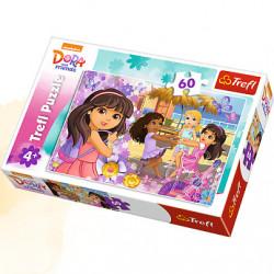 TREFL Puzzle Układanka 60 el. Dora i Przyjaciółki 17296
