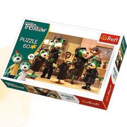 TREFL Puzzle Układanka 60 el. Rodzina Treflików 17308