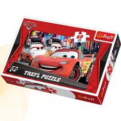 TREFL Puzzle Układanka 60 el. Cars Disney ZWYCIĘZCA 17211