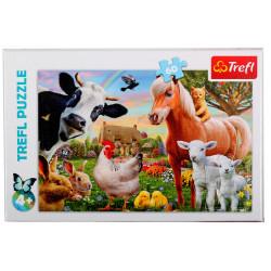TREFL Puzzle Układanka 60 el. Wesoła Farma 17320
