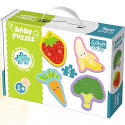 TREFL BABY Pierwsze Puzzle dla Malucha WARZYWA i OWOCE 36076