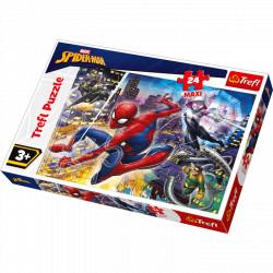 TREFL Puzzle Maxi Układanka 24 el. SPIDERMAN 14289