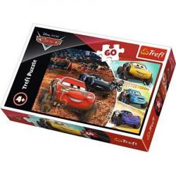 TREFL Puzzle Układanka 60 el. Cars ZYGZAK 17327
