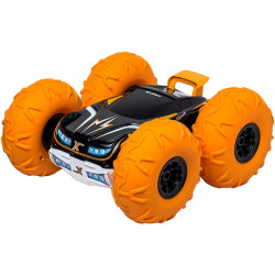 Silverlit EXOST TORNADO Samochód Zdalnie Sterowany 360 Stopni Pomarańczowy TE142