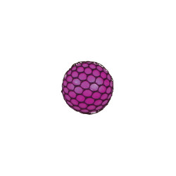 TOBAR Squishy Mesh Ball ANTYSTRESOWY GNIOTEK W SIATCE Fioletowy 4230