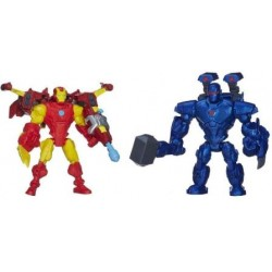 Hasbro - A9530 - Marvel - Super Hero - Mashers - Figurki - Iron Man vs. Iron Monger - 15 cm