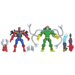 Hasbro - A8898- Marvel - Super Hero - Mashers - Figurki - Spider-Man vs. Doc-Ock - 15 cm