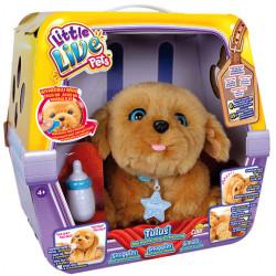 COBI Little Live Pets Zabawka Interaktywna PIESEK TULUŚ Beżowy 28185