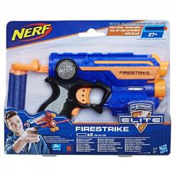 Hasbro NERF N-Strike Elite Wyrzutnia Firestrike NIEBIESKI 53378