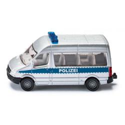 SIKU Auto Policyjne Polizeibus Van 8 cm 0804