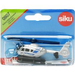 SIKU Samolot Policyjny Polizei Hubschrauber 8 cm 0807