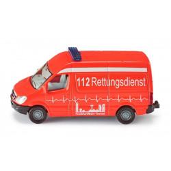 SIKU Ambulans Krankenwagen 8 cm 0805