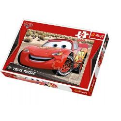 Trefl - 14082 - Puzzle 24 Maxi - Auta - Zygzak McQueen