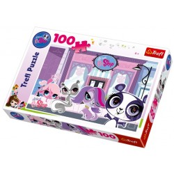 Trefl - 16198 - Puzzle 100 - Littlest Pet Shop - Na Ulicy