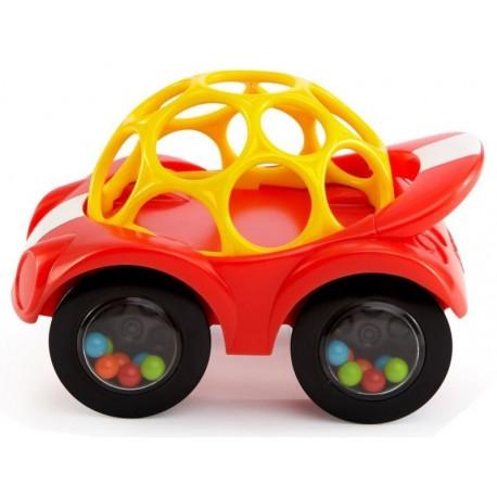 Oball - Autko - Samochodzik - Grzechotka - Gryzak - Czerwony