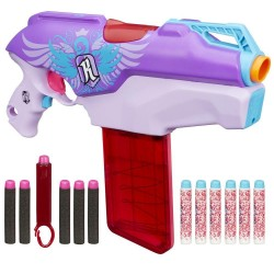 Hasbro - A8920 - NERF Rebelle - Secrets & Spies - Rapid Red - Pistolet Automatyczny