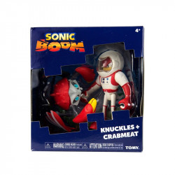 TOMY Sonic Boom KNUCKLES i CRABMEAT T22045