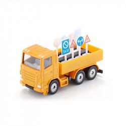 SIKU Ciężarówka i Znaki Drogowe 8 cm 1322