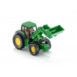 SIKU Traktor John Deere z Ładowarką 7 cm 1341