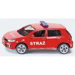 SIKU Auto Straży Volkswagen Golf 8 cm 1437