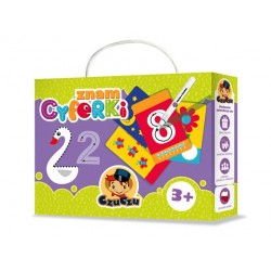 CzuCzu - 4541054 - Kreatywne Zabawy - Rysowanie - Zmazywanie - Znam Cyferki