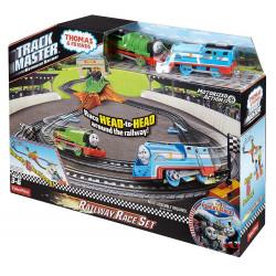 Fisher-Price TOMEK I PRZYJACIELE Track Master Zestaw z Torem Wyścigowym DFM53