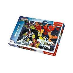 TREFL Puzzle Układanka 200 el. Spiderman Wielkie Starcie 13205