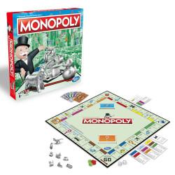 Hasbro Gra Angielska Logiczna Monopoly Classic C1009