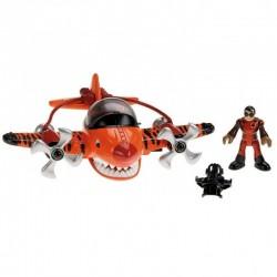 Fisher-Price - X5253 - X5256 - Imaginext - Samolot - Podniebny Tygrys