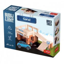 TREFL Brick Trick Buduj z Cegieł GARAŻ 60869