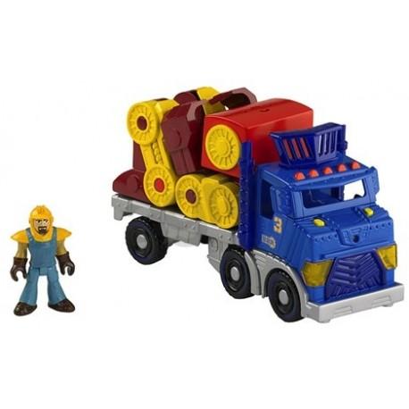 Fisher-Price - BDY42 - Imaginext - Wielka Ciężarówka i Robot