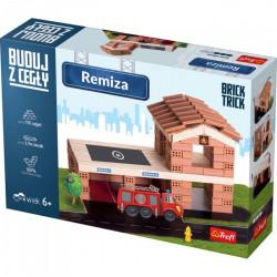 TREFL Brick Trick Buduj z Cegieł REMIZA 60876