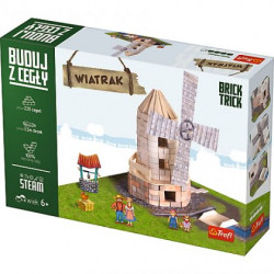 TREFL Brick Trick Buduj z Cegieł WIATRAK 60878