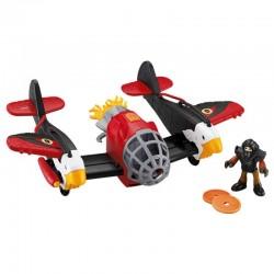 Fisher-Price - X5248 - X5251- Imaginext - Samolot - Orzeł