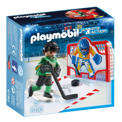 PLAYMOBIL 6192 Sports & Action Hokejowa Bramka Treningowa
