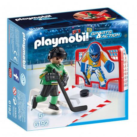 PLAYMOBIL 6192 Sports & Action Hokejowa Bramka Treningowa