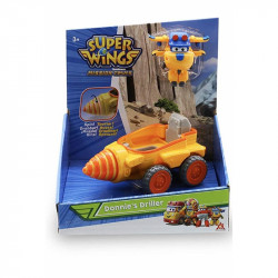 SUPER WINGS Mission Teams Figurka Transformująca Donnie i Wiertło 730843