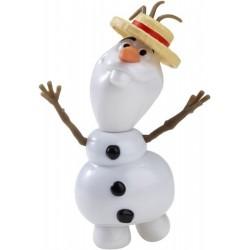 Mattel - CJW68 - Disney - Frozen - Kraina Lodu - Bałwan Olaf - Wakacyjny z Dźwiękiem - 12 cm