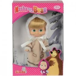 Simba MASZA I NIEDŹWIEDŹ Lalka w Stroju Zimowym 6800