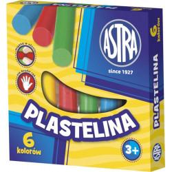 ASTRA Masa Plastyczna Plastelina 6 Kolorów 0071