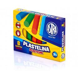 ASTRA Masa Plastyczna Plastelina 8 Kolorów 0514