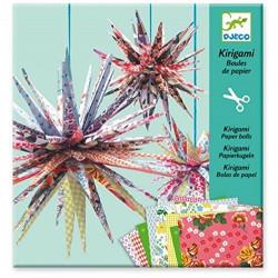 DJECO Zestaw Dekoracyjny Origami Papierowe Gwiazdy 08765