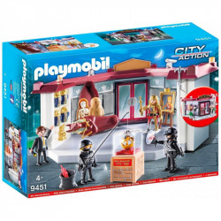 PLAYMOBIL 9451 City Action NAPAD NA MUZEUM