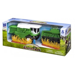 New Ray Toys - 04295- Country Life - Kombajn Zobożowy