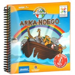 Granna - Gra Logiczna - Magnetyczne Gry Podróżne - Arka Noego