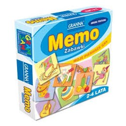 Granna - Gra Logiczna - Moje Pierwsze Gry - Memo - Zabawki